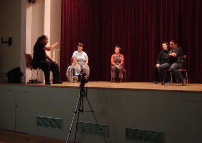 Erster Workshop mit Suchy 2009